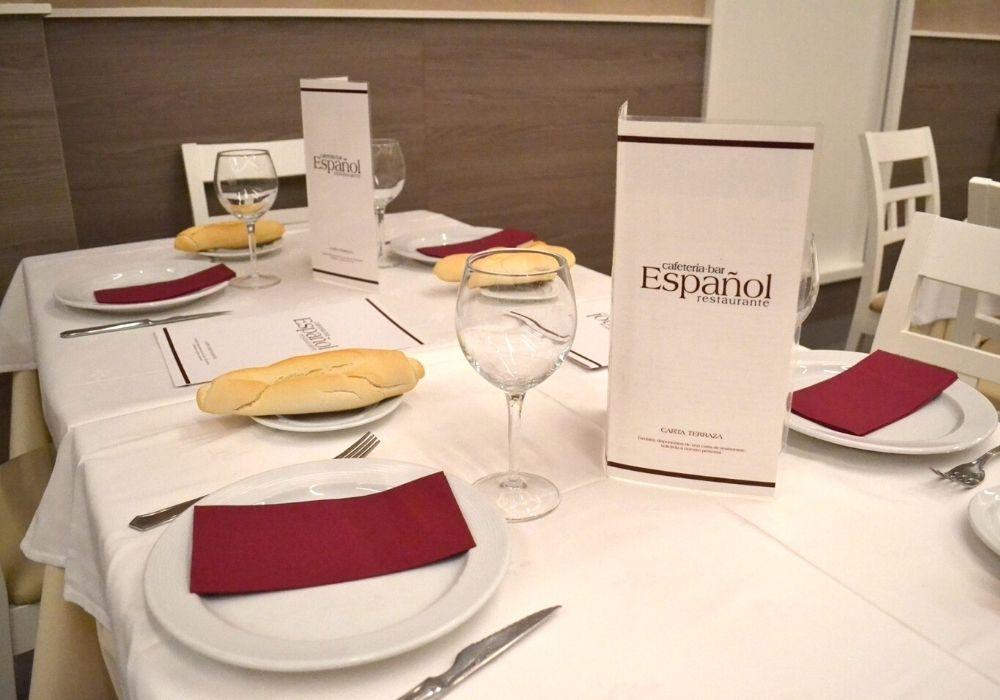 salones el español restaurante
